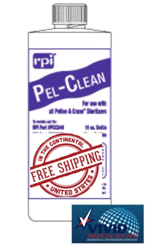 RPI Pel-Clean Sterilizer Cleaner