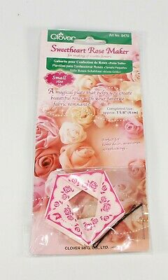 Clover Sweetheart Rose Maker - Small  No. 8470