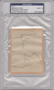 1938-NELSON-EDDY-Autograph-Signature-Singer-and-Actor-graded-PSA-9-MINT