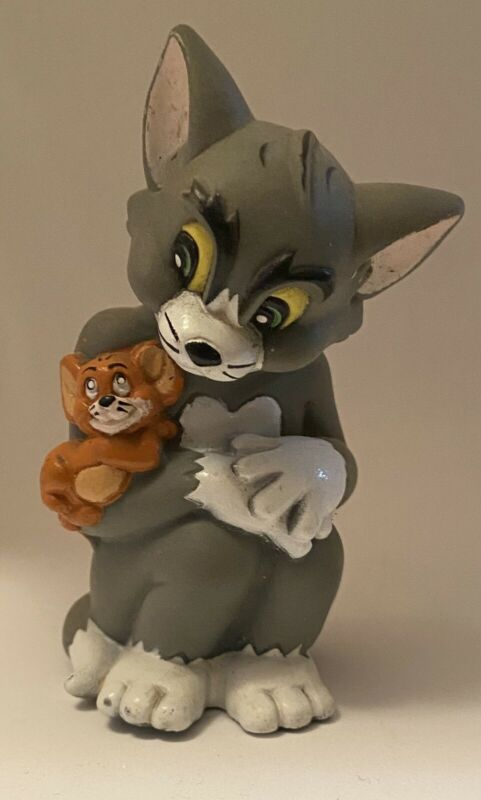 TOM AND JERRY Turner Entertainment Rubber Vinyl Figure 1993