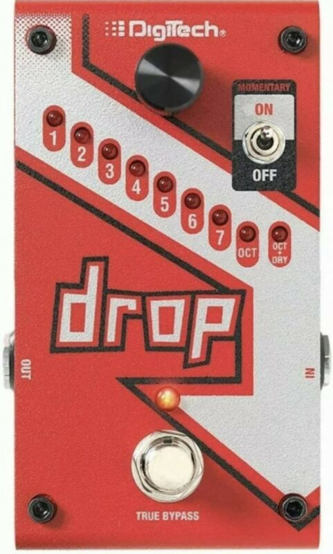 Digitech Compact Polyphonic Drop Tune Pitch-Shifter 0691991202902