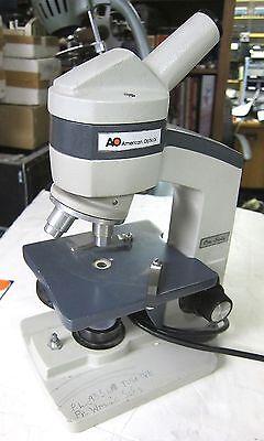 American Optical 60 Or Reichert Model One60 Microscope Used School Surplus Good