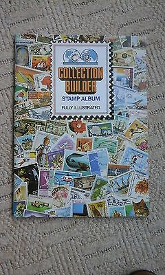 COLLECTION BUILDER OLD STAMP ALBUM USED NO STAMPS INSIDE