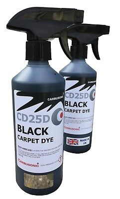 Black carpet dye - trigger spray interior trim renovation detailing fluid 1 LT.