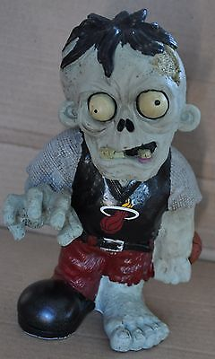 Miami Heat  - ZOMBIE - Decorative Garden Gnome Figure Statue NEW NBA - Miami Heat Decorations