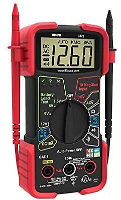 Digital Multimeter Auto Range Voltmeter Tester Automotive Capacitance Meter Amp
