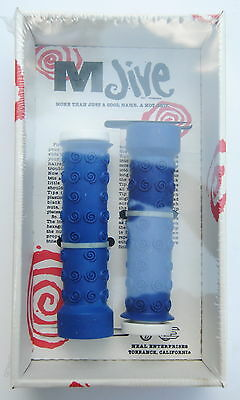 YELLOW Jive Handles Tentacles old school BMX bicycle grips NOS!