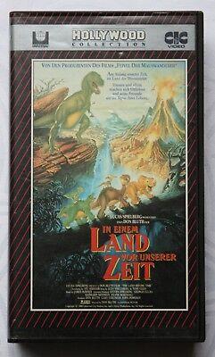 In einem Land vor unserer Zeit - Dinosaurier - Littlefoot - VHS Kassette