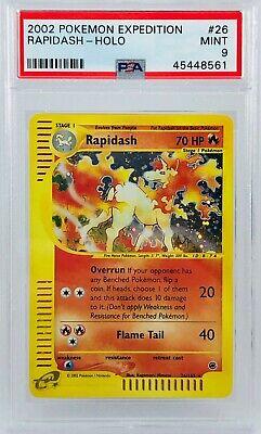 Pokemon - Rapidash Holo #26 - PSA 9 Mint/Neuf - Galopa US - Expedition base set