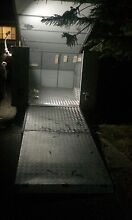 Enclosed box trailer with fold out ramp St Marys Penrith Area Preview