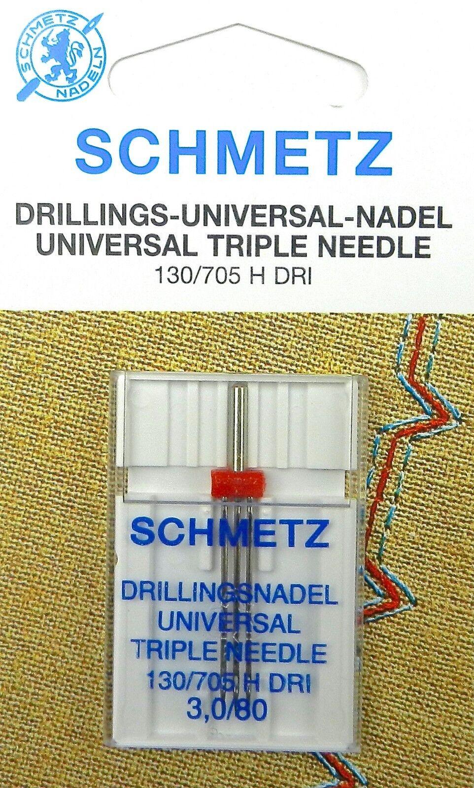 Schmetz Universalnadel 130//705H Stärke 70-90 Nähmaschinennadel Nähnadel 10//Pack