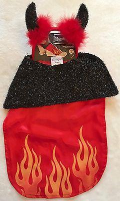 Devil Dog Costume - Cape & Horns - XS/S - Halloween - Bootique - NWT](Devil Dog Costumes)