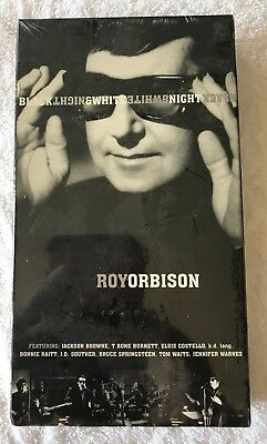 Roy Orbison and Friends A Black and White Night VHS Sealed Rare All Star