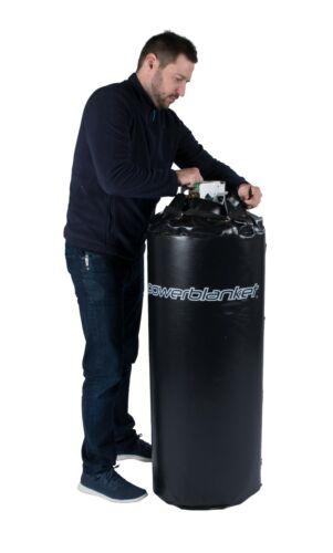 100 lb Gas Cylinder Heater (Propane) - Powerblanket GCW100 - 100lb propane