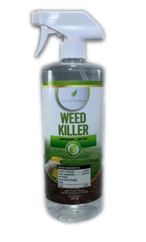 Natural Elements Weed Killer | Glyphosate Free | Safe Around Children, Pet Safe