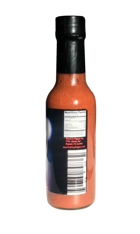 Wicked Reaper Carolina Reaper Hot Sauce Hotter than Ghost Peppers Extreme Heat