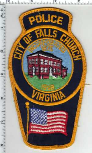 City of Falls Church Police (Virginia) Uniform Take-Off Shoulder Patch 1994