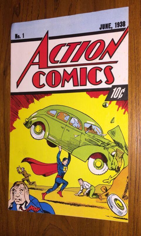 No. 1 ACTION COMICS June 1938 - DC Reprint Superman