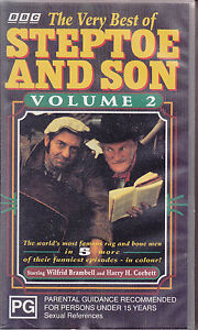 PAL-VHS-VIDEO-TAPE-THE-VERY-BEST-OF-STEPTOE-AND-SON-VOL-2