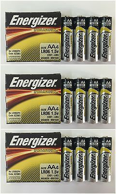 20 Batteries - Energizer AA Industrial EN91 1.5V Alkaline Batteries - EXP 2024