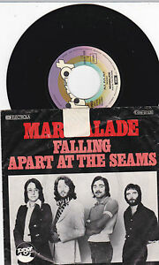 7'' MARMALADE Falling Apart At The Seams