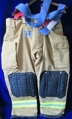 New Honeywell Morning Pride Firefighter Pants Wsuspenders Turnout Gear