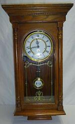 Ridgeway Pendulum Wall Clock with Westminster Chimes