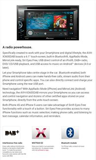 Pioneer AVH-X3600DAB Campbelltown Campbelltown Area Preview