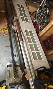 16x7 garage door like new