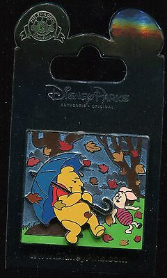 Winnie the Pooh and Piglet Blustery Day Disney Pin 108597