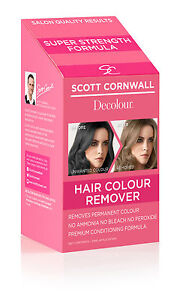 Decolour Hair Dye Remover Extra Strength Hair Colour