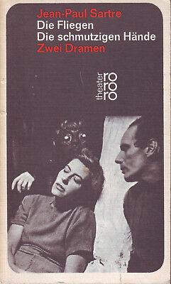 Die Fliegen - Die schmutzigen Hände : Jean - Paul Sartre /  Nr. 91