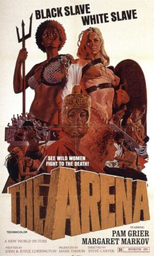 THE ARENA , 2008  horror sci-fi movie poster cheap unframed
