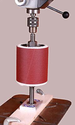 Drill Press Sanding Mandrel. Sand-rite Inflatable Pump Sleeve Bag Drum Sander