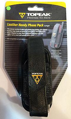 Topeak Handy Phone Pack Leather Large - Handy Phone Pack