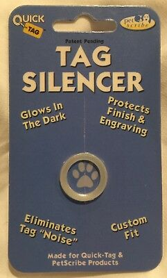 Quick-Tag Tag Silencer Glow In The Dark - Small Round