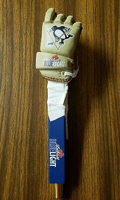 Labatt Blue Hockey Glove Beer Tap Handle. BRAND NEW. Pittsburgh Penguins.