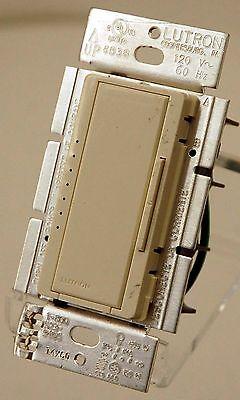 Lutron Maestro MACL-153M-LA Single Pole Wall Dimmer Light Switch LED Lt. ALMOND Lutron Maestro Single Pole