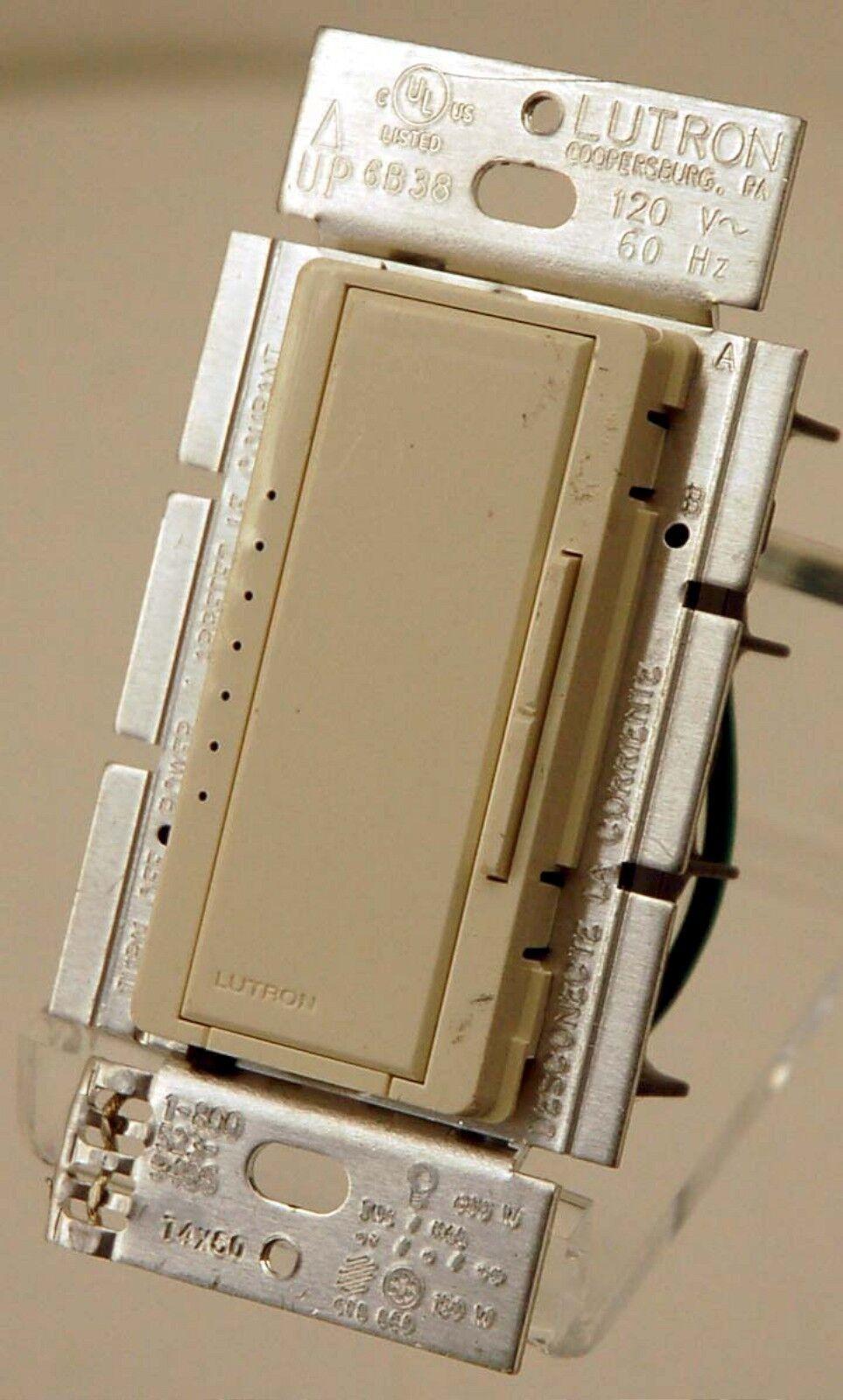 Lutron Maestro Macl 153m La Single Pole Wall Dimmer Light Switch Led Lt Almond