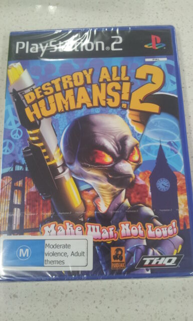 destroy all humans 2 PS2 (NEW)