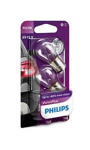 P21/5W 12V 21/5W PHILIPS VISION PLUS + 50% VISIONPLUS 2er SET  ++ANGEBOT++
