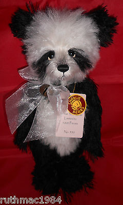 Cb181863b Zadie By Charlie Bears Plush Jointed Teddy Bear