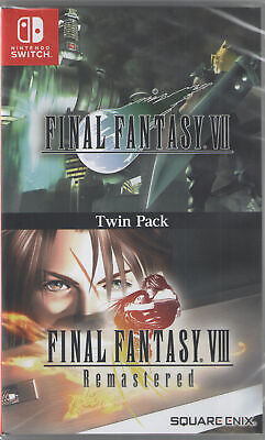 Final Fantasy 7 & Final Fantasy 8 Remastered - Nintendo Switch
