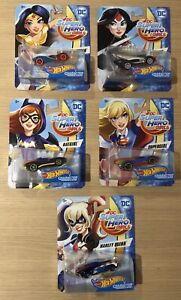 Hot wheels DC Super Hero Girls complète collection *NEW* SALE