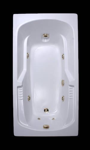 72x36Comfortflo Whirlpool Bath LIFETIME WARRANTY