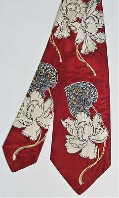 1940s Mens Ties | Wide Ties & Painted Ties  Vintage 1940'S VAN HEUSEN SWING BIG BAND Original design Men's Tie $69.99 AT vintagedancer.com