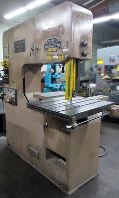 Kalamazoo Startrite 36 Vertical Metal Cutting Band Saw 1 Blade