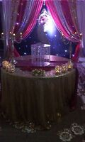 Affordable wedding backdrops, B'day, Mehandi, reception & more