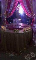 Affordable wedding backdrops, B'day, Mehandi, reception & more