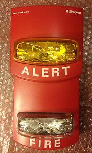Simplex Horn Strobe Audible Device Model Number 4903 9202 172088900210 moreover 20554970145 together with Truealert Notification Appliances in addition Watch moreover Simplex 4901. on simplex true alert fire alarm